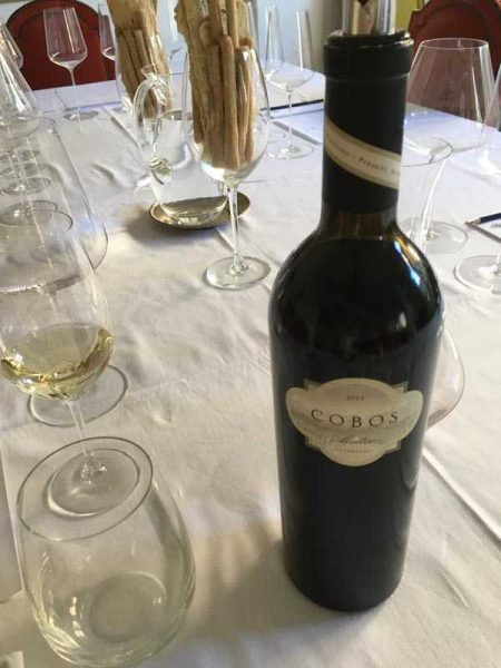 First tasting of 2017 - Cobos