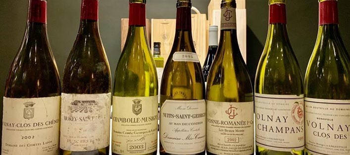 Burgundy tasting