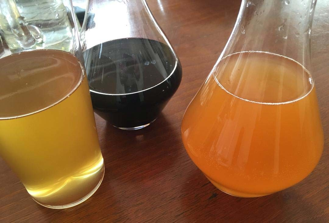 Decanted wines