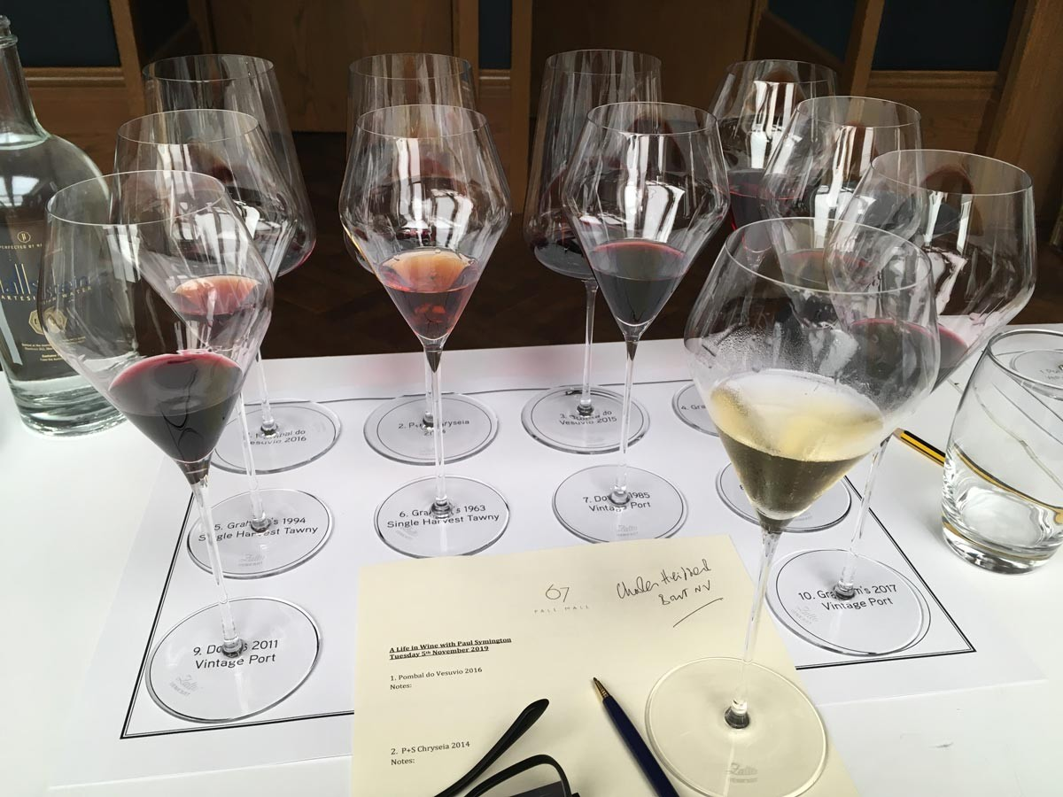 Paul Symington - Pinhao tasting